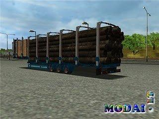 Trailer Jumbo Holztransporter