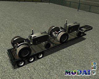 Trailer Old Tractors