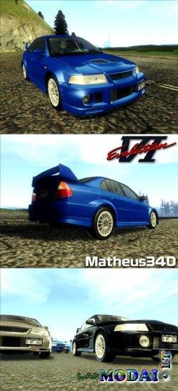 Mitsubishi Lancer Evolution VI GSR 1999 » GamesMods.Net - Farming ...