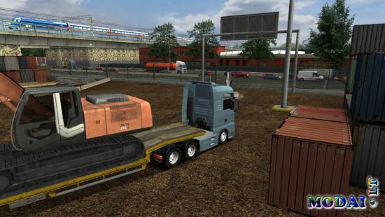 Truck Simulator Mods trailers
