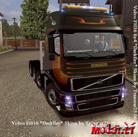 Vovlo FH16 Darkfire