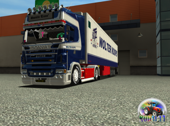 SCANIA R620 WOLTER KOOPS