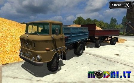 IFA W50 + trailer