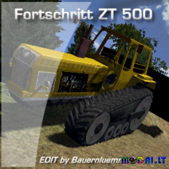 Fortschritt ZT500 Raupe