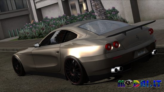 Ferrari F612 Styling customization + Rims