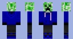 Blue Hoodie Creeper