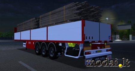 Samro multiloading trailer