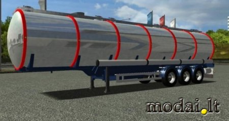 frynsk fuel trailer