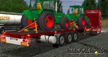 Traktor trailer