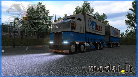 Kenworth Aerodyne – Road Trains