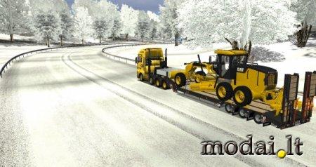 Motorgrader 140 trailer