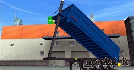 Bodex tip trailer