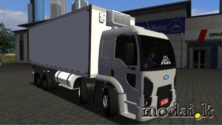 Ford Cargo Bi-Truck Com Câmara Fria By: Breno