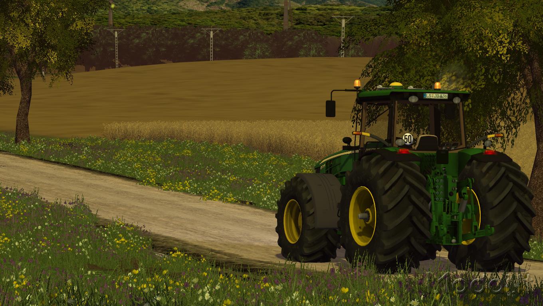 how to get full screen map farming simulator 2015