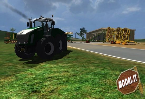 Fendt Trisix pack (Without path tractor)