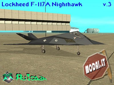 Lockheed F-117A Nighthawk v.3