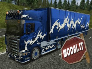 Scania Combo BlueSaxShark