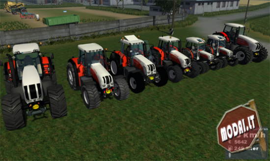 Steyr Tractor Pack (path tractor)