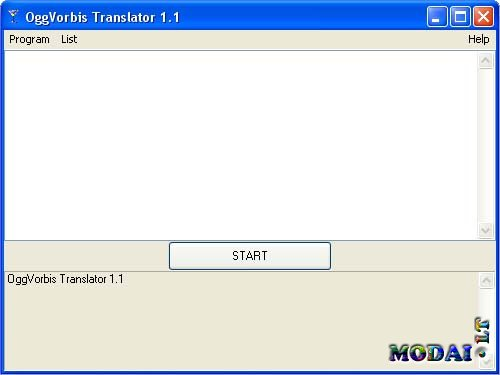 OggVorbisTranslator 1.1