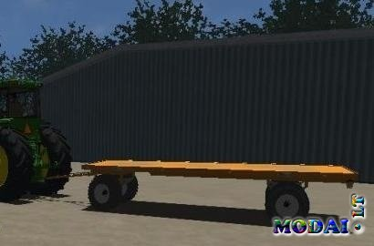 Roland Bale trailer and 3 axle