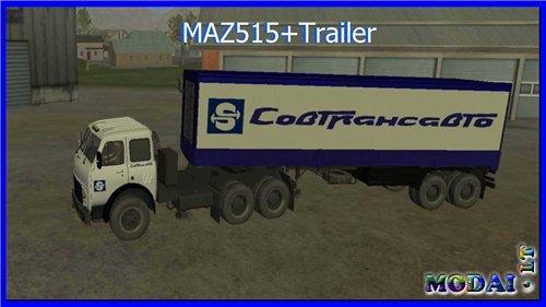 MAZ 515 + Trailer