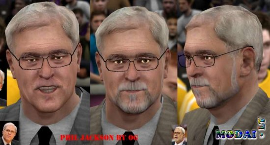 Phil Jackson Cyber Face Update