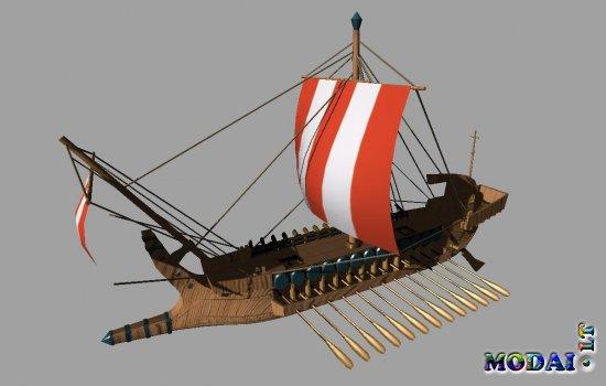Viking Ship *scenery item*