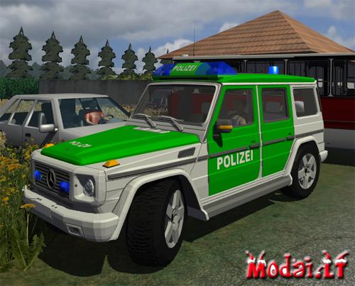 MB G500(policijos masina)