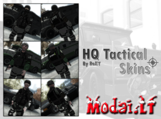 HQ Tactical Skins