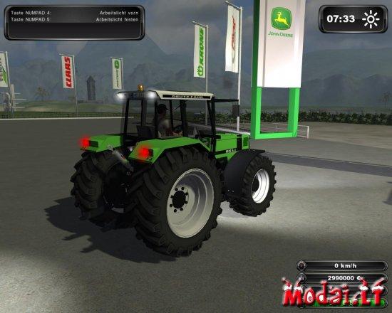 DEUTZ-FAHR AgroStar 6.31 TURBO