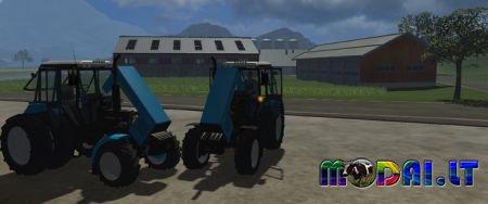 Belarus MTZ 1221 Blue