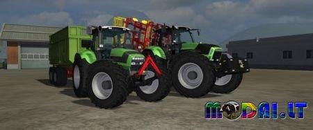 Deutz Fahr Agrotron X720 & M620