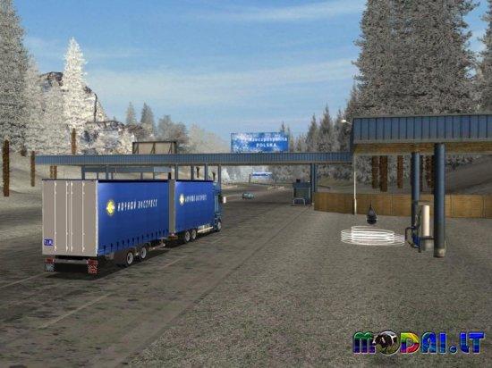 Euro Truck Simulator-winter