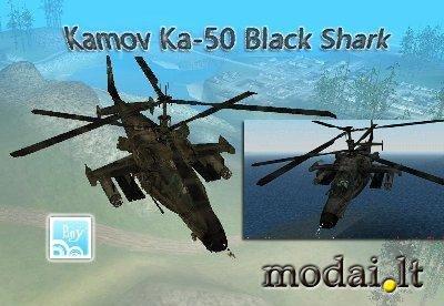Kamov Ka-50 Black Shark