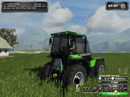 Deutz Intrac 660SE