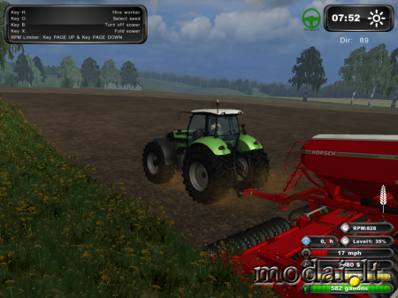 FS2011 Deutz Tractor Pack (Washable)