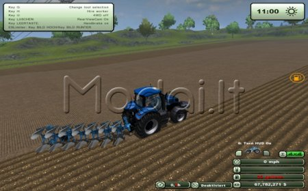 New Holland T8390 New version 2.0 !