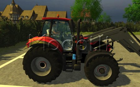 Deutz Agrotron 7250 TTV with Quicke Q68 Frontlader