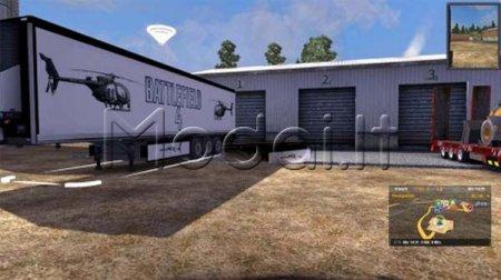 Battlefield 4 Game trailer skin