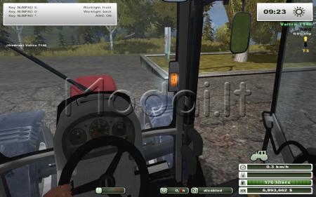 Valtra T140 more realistic
