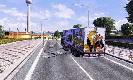 Simpsons trailer skin
