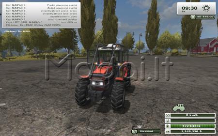Zetor ZTS 16245 Forest Mod