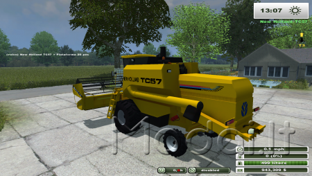 NEW HOLLAND TC57 AND HEADER PACK