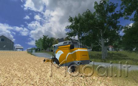 Sampo Rosenlew Comia C4 Set v2.0 More Realistic