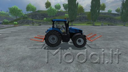 Round Bale Fork Double V 1.0