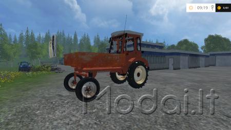 Продажа трактора колесного Фронтальный челюстной БАМ-2021.