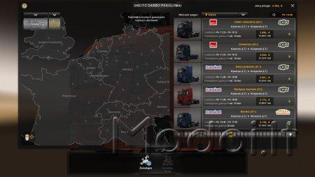 Baltics Country Map Beta Version 0.1
