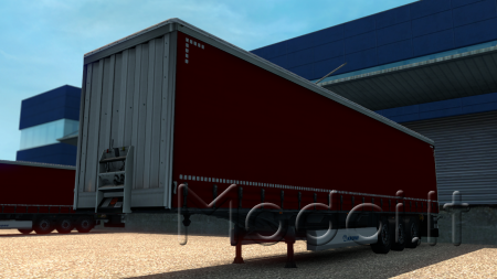 Red krone trailer