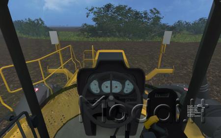 Rogator 1386 Fertilizer Spreader