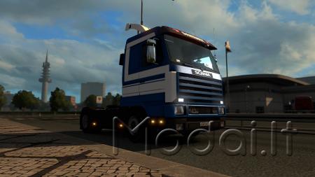 Scania 143 + Trailer Shmitz